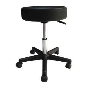 Pneumatic Doctors Stool W/O Back Rest W/Foot Ring (Catalog