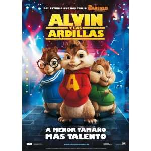 Alvin and the Chipmunks Movie Poster (11 x 17 Inches   28cm x 44cm