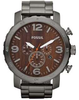 """El reloj de los nuevos de JR1355 Fossil """"Nate"""" de cronógrafo de"""