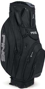 NEW 2012 Ping PIONEER BLACK Golf 14 Way CART Bag