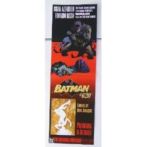 Batman #620 vs the Joker DC Comics 34 by 11 Promo Poster