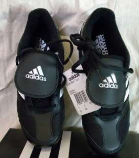 ADIDAS TRIPLE STAR 7 LOW J YOUTH BASEBALL SHOES/CLEATS BLACK/WHITE