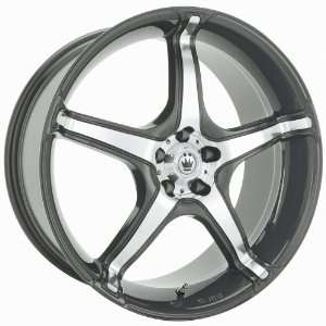 Trouble (Graphite w/ Machined Inlay) Wheels/Rims 4x114.3 (TR89114456