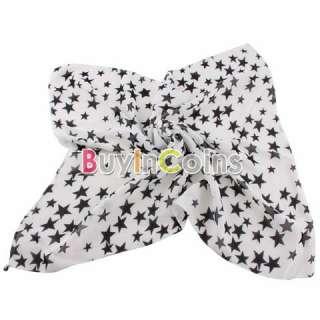 Stars Women Fashion Soft Chiffon Neck Warm Kerchief Scarf Wrap