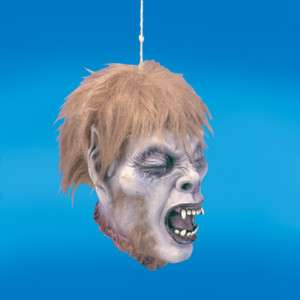 Warewolf Shrunken Head WBloody Neck Halloween Favors