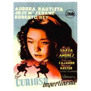 El curioso impertinente Poster Movie Spanish (11 x 17