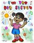 AFRO AMERICAN   IM THE BIG SISTER T SHIRT CUSTOMIZED