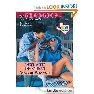 Angel Meets the Badman (The Texas Brand) Maggie Shayne