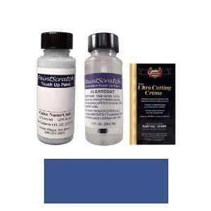 1 Oz. Monte Carlo Blue Metallic Paint Bottle Kit for 2011