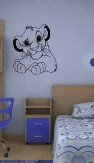 LION KING KIDS ROOM NURSERY CARTOON DISNEY WALL ART DECAL STICKER