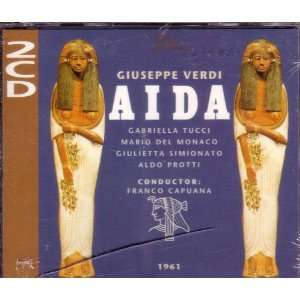 Anthos Cesarini, Giuseppe Verdi, Franco Capuana, Tadashi Mori(Maestro
