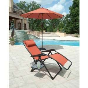 Extra Large Anti Gravity Chair   Rust Office Products