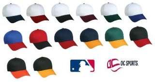ADULT BASEBALL TEAM MLB BALL ADJUSTABLE CAPS/HATS