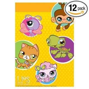 Designware Littlest Pet Shop Loot Bags, 8 Count Packages
