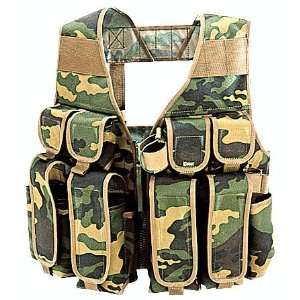 ARMY TACTICAL ASSAULT VEST SPETSNAZ TARZAN CAMO M32: Sports & Outdoors