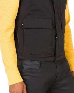 New with Tag $455 ALLEGRI Military Nylon Down Alt Filled Black Jacket