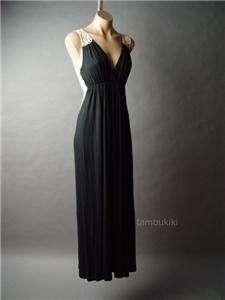 BOHEMIAN Crochet Embroidery Back Boho Long Maxi Dress XL