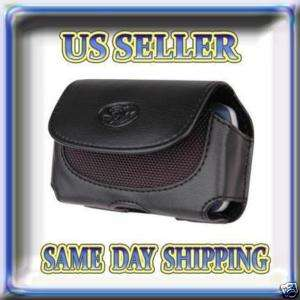 Leather Case Cover Holster For Verizon Motorola Droid X