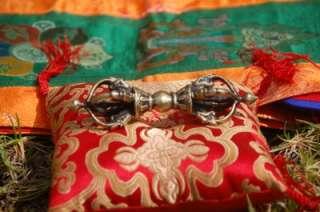 TIBETAN BUDDHIST HAND CRAFTED LARGE DORJE VAJRA FOR MEDITATION