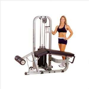 Body Solid Pro Club Line Leg Curl SLC 400G Weight Stack: 310 lb