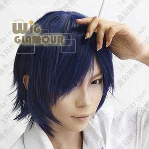 Uta no Prince sama Ichinose Tokiya Cosplay Dark Blue Hair Wig