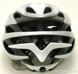 SAVANT White/Silver Road Bicycle Helmet Medium MSRP $90 New