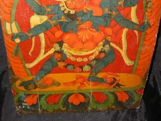 Name Wonderful Rare Old Antique Unique Tibetan Buddhist Hand Painted