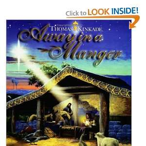 Away in a Manger Public Domain, Thomas Kinkade Books