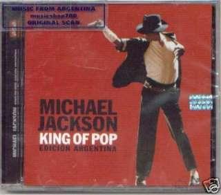 MICHAEL JACKSON, KING OF POP – EDICION ARGENTINA. GREATEST HITS + 2