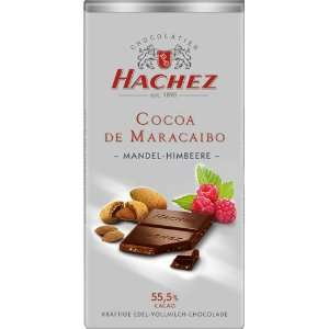 Hachez Milk Chocolate Rasberry Crunch Bar:  Grocery