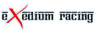 EXEDIUM LUG NUTS 12x1.25 BLACK RED NISSAN SUBARU