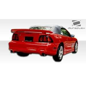 Mustang Duraflex Colt Rear Bumper   Duraflex Body Kits Automotive