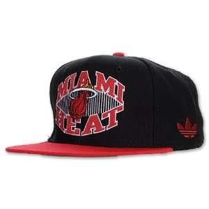 REEBOK ONFIELD Reebok NBA Miami Heat Flat Bill Snapback, Team Colors