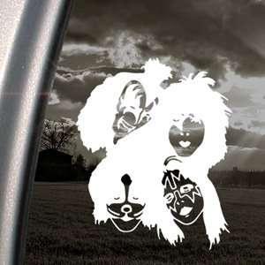 KISS Decal Band Rock Band Car Truck Window Sticker