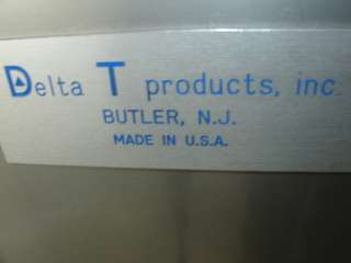 Delta T Hot air Drying System Model 20194 Oven w/filter