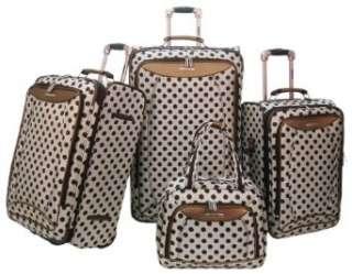 Olympia Spearmint 4 Piece Luggage Set Clothing