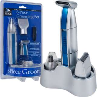 Edge™ 6 Piece Grooming Set   Interchangeable Tips   Great for Travel