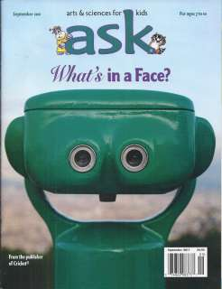 ASK MAGAZINE FACES ROBOTS KING MIDAS NESTORS DOCK JIMMY AND THE BUG