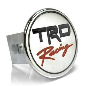 Toyota TRD Racing Chrome Tow Hitch Cover Automotive
