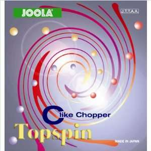 Topspin C Table Tennis Blade Rubber Thickness 1.2, Color