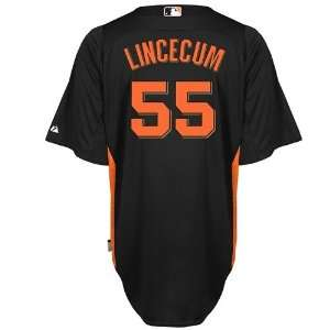 Tim Lincecum San Francisco Giants Majestic Authentic Cool