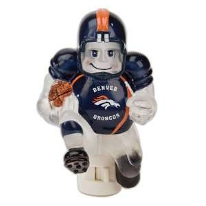 Pack of 2 NFL Denver Broncos Football Player Night Lights