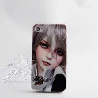 Barbie girl design hard Skin Cover Case For Iphone 4G 5