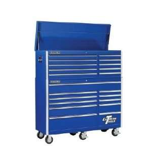 21 Drawer Professional Rolling Tool Cabinet Tool Chest Combo (Blue)