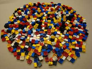 600 Lego Bricks 2 x 2 2x2 Bulk Brick Lot pounds lbs