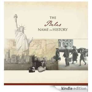 The Beles Name in History: Ancestry  Kindle Store