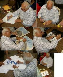 TOMMY LASORDA AUTOGRAPH SIGNED BASEBALL JERSEY PSA/DNA