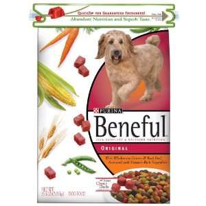 Beneful Dog Food, Original, 15.5 lbs (Pack of 2) Pet