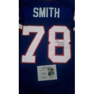 Bruce Smith Signed Buffalo Bills Jersey