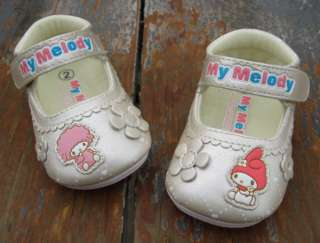 Toddler Baby Girl Walking Shoes Beige Mary Jane US Size 2 3 4 5